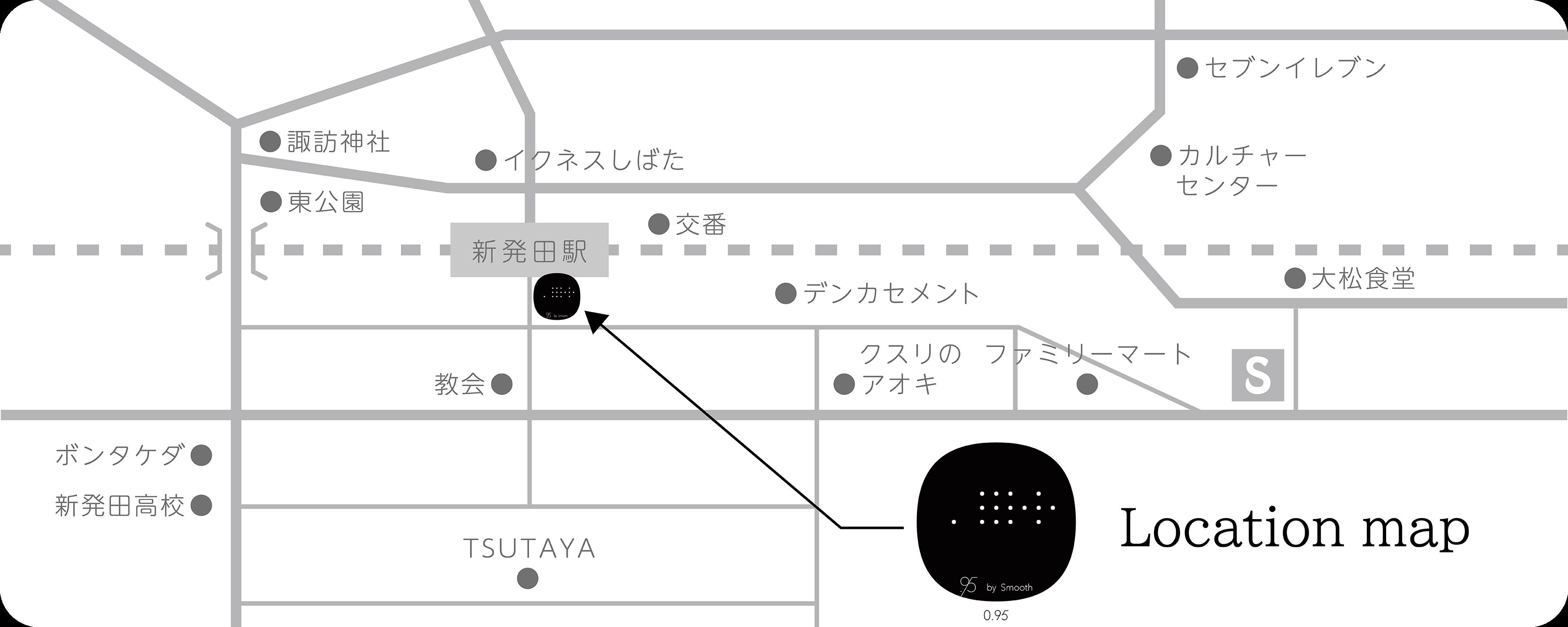 0.95 location map